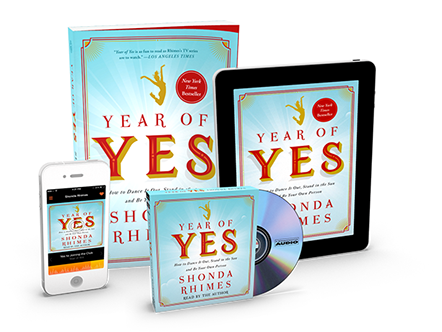 Year of Yes Book Shonda Rhimes Discussion