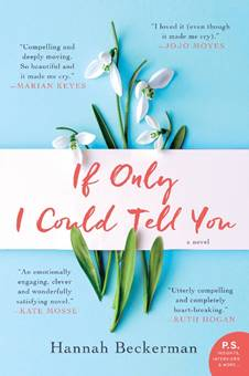 Contemporary Fiction Novel – If Only I Could Tell You