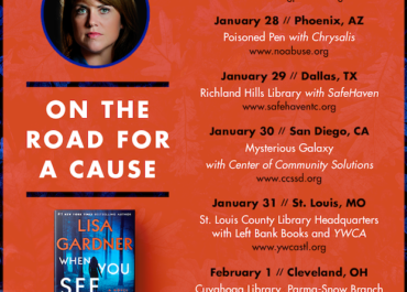 On The Road for a Cause - Author Lisa Gardner