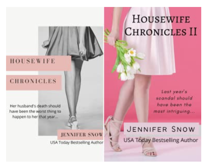 Housewife Chronicles I and II Book Covers