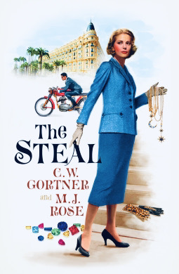 The Steal - Mystery Suspense Novel Book Cover